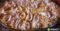 Sült túrós palacsinta mascarponéval recept képpel. Hozzávalók és az elkészítés részletes leírása. A sült túrós palacsinta mascarponéval elkészítési ideje: 70 perc Tiramisu, French Toast, Food Porn, Sweets, Breakfast, Mascarpone, Hungarian Recipes, Morning Coffee, Gummi Candy