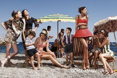 Dolce & Gabbana – Womenswear Advertising Campaign - Spring Summer 2013