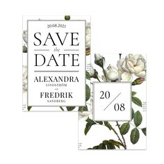 Ljuv ros – Save The Date – The Paper Story Save The Date, Place Cards, Dating, Place Card Holders, Paper, Products, Quotes