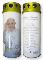His Holiness Saint Pope Francis I Jorge Mario Bergoglio gifts and souvenirs page. We have a selection of Pope Francis Rosaries, prayer cards, medals and statues. Prayer Cards, John Paul, Pope Francis, Health And Beauty, Prayers, Candle, Prayer, Beans, Candles