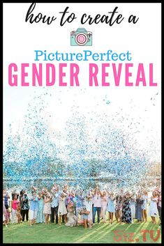 Baby Reveal Ideas Gender Confetti Poppers 68 New Ideas Confetti Balloon Gender Reveal, Twin Gender Reveal, Gender Reveal Photos, Gender Party, Baby Gender, Baby Baby, Gender Reveal Photography, Little Mac, Baby On The Way