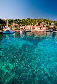 Elaphiti Islands,Suđurađ, Croatia: