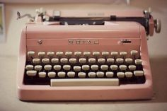 i want an old type writer