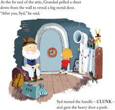 Page from 'Grandad's Island' by Benji Davies