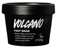 Volcano Foot Mask (fotmaske): VIL PRØVE!