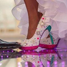 Swarovksi Crystal Designed Wedding Vans Authentic Shoes - Vans Wedding Shoes - Custom Wedding Shoes - Rhinestone Vans - Video In Description Wedding Vans, Rhinestone Wedding Shoes, Pearl Design, Crystal Design, Custom Design Shoes, Custom Shoes, Crazy Shoes, Me Too Shoes, Bling Shoes