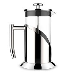 Amazon.com: French Press Coffee & Tea Maker |8 Cup(34 Oz) - Guaranteed Perfect Cup Every Time - Stainless Steel & Heat-Resistant Borosilicate Glass - Makes the Perfect Gift by Culinary Prestige: Kitchen & Dining