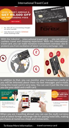 With The Indusind International Travel Card You Can Relish A Cashless And Ping Experience