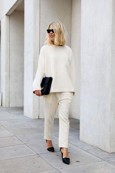 Fashion mature model shapely