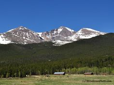 Rocky Mountain High: The Long's Peak Massif, part of Colorado's Front Range - photo by B N Sullivan