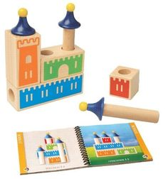 Castle Logix -- Building toy, puzzle, and game all in one! Award-winning and eco-friendly, too!