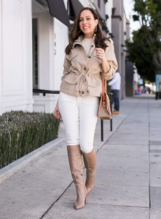 c704d57afba How to Wear a Utility Jacket Now   Later. Sydne Style shows how to wear the spring  utility trend ...