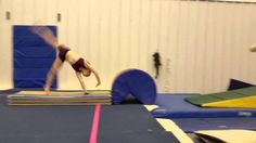 Round off Drills: At my gym, we do round offs off of the springboard.