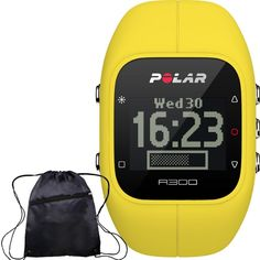Polar 90055511 - A300 Yellow Fitness and Activity Monitor with FREE Cinch Travel Bag and without Heart Rate Monitor ** Want additional info? Click on the image.