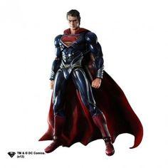 Action Figure Square Enix Man of Steel Superman #Action Figure#Square Enix