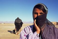 Young Bedouin woman, Sinai, Egypt, North Africa, Africa