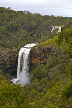 Upper and lower Ebor Falls, Australia England Australia, Australia Travel, New England, Waterfall, Traveling, Places, Outdoor, Viajes, Outdoors