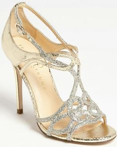 The most fabulous wedding heels!