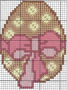 Easter egg perler bead pattern пасха
