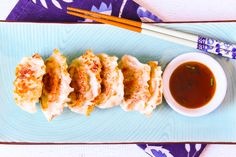 These Pork Dumplings are highly addictive and easy to make! Make a big batch, they're freezer-friendly.