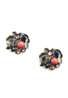 beutifull earrings! love that they have poison oak on them ...so quirky and neat!!!