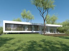 Individual modern Architectural design and concepts. Architecture Design, House Plans, Villa, Golf, House Design, Studio, Outdoor Decor, Modern, Home Decor