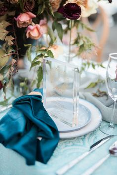 ROQUE Events took it to the beach for this modern elegant coastal wedding inspiration. This team of creatives drew inspiration from hues of blue and marsala, with chic details and geometric accents that added depth to this gorgeous style. Beach Wedding Tables, Wedding Menu, Wedding Day, Coastal Wedding Inspiration, Modern Baroque, Seaside Style, Table Names, Sleeping Beauty Turquoise, Bride Look
