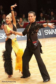 Armen and Svetlana 2015 - new take on the latin dress