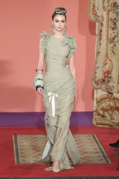 Christian Lacroix at Couture Spring 2009 - StyleBistro
