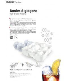 Ефектни овални форми за лед от Yoko Design