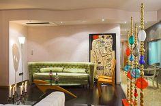 HOME DECOR IDEA :: Art living room decor idea