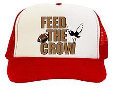 Feed The Crow Beast Trucker Hat Cap