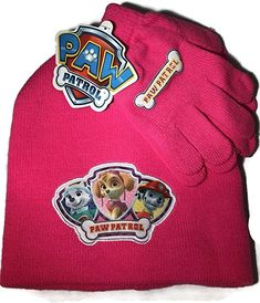 9496553f1ed Paw Patrol Girls Toddler Pink Hat And Gloves Set - Everest