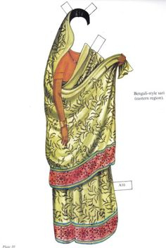 Traditional Costumes of India - edprint2000paperdolls - Picasa Web Albums