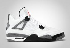 Clean. (Air Jordan IV White Cement)
