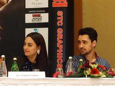 The cast of Hindi movie 'Once Upon a Time in Mumbai Dobaara' came to Dubai. Stars Imran Khan Sonakshi Sinha and Akshay Kumar Time In Mumbai, Imran Khan, Akshay Kumar, Sonakshi Sinha, Hindi Movies, Dubai, It Cast, Stars, Celebrities