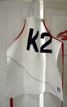 Sailor's Personalised Sailcloth Apron