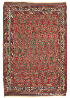 AFSHAR, Southeast Persian 5ft 0in x 7ft 6in Circa 1875
