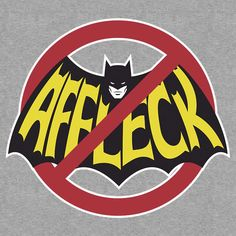 Batman No Affleck T-Shirt