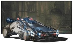 Police Car from Injustice: Gods Among Us