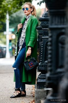 Olivia Palermo Is Our Celebrity Street Style Star of the Year! via @WhoWhatWear
