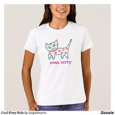 Cool Kitty Kids T-Shirts