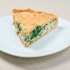 Simple Salmon Pie -Made this tonight. I'd definitely make it again! Lots of room to play around with different flavors!