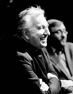 "Alan Rickman: Questions and answers at the Glasgow Film Theatre after the Scottish premiere of his film ""A Little Chaos"", which he co-wrote, directed and stared in as Louis XIV, as part of the Glasgow Film Festival. Feb 21, 2015. with Allan Hunter, Festival Co-Director"