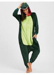 3c035a9e85 Dinosaur Animal Onesie Pajama