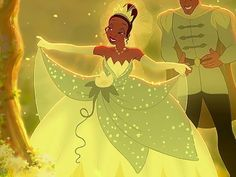 The image of success, you would look gorgeous in Tiana's magical gown. Hardworking and determined, Tiana had to go through a lot of hardships to get to that moment... the moment where her dreams came true. Keep the faith, and work for what you want- it WILL come.
