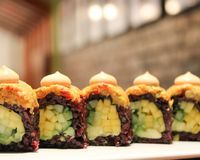 50 best cheap eats in NYC Beyond sushi is the most amazing vegan sushi place we've been to in NYC!