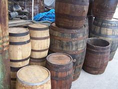 Roll out the barrels....at Stone Age Antiques