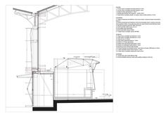 Image 15 of 17 from gallery of Ninot Market Refurbishment / Mateo Arquitectura. Robert Mallet Stevens, Paris Markets, Construction, Detailed Drawings, Steel Buildings, Architecture Details, Facade, Floor Plans, Marketing