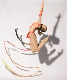 Rhythmic Gymnastics Photography, ribbon